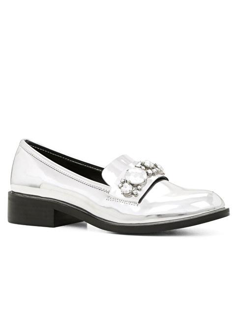 Aldo Loafer Ayakkabı Gümüş